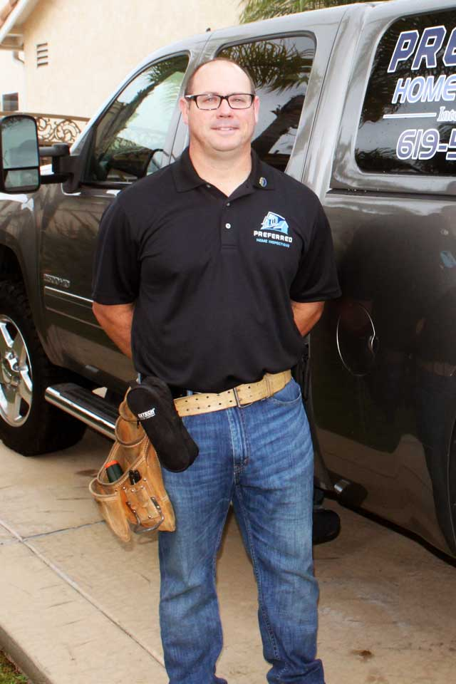 National City Home inspector Dan Eskew of Preferred Home Inspections